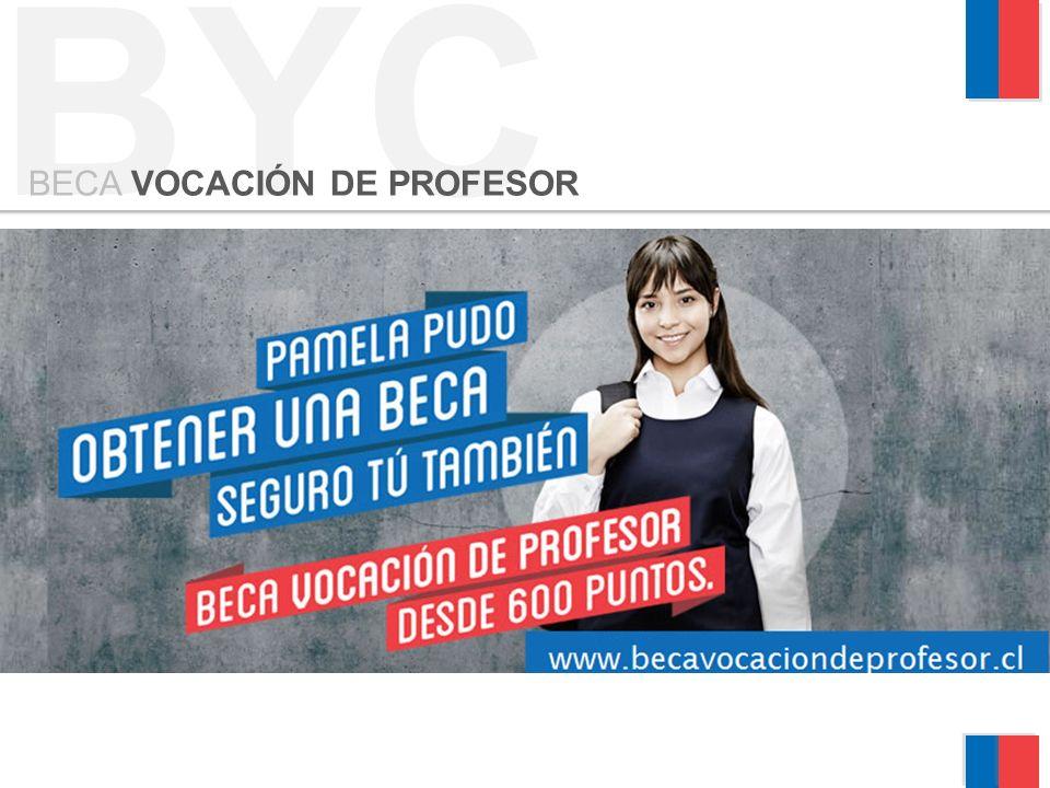 BYC BECA VOCACIÓN DE PROFESOR