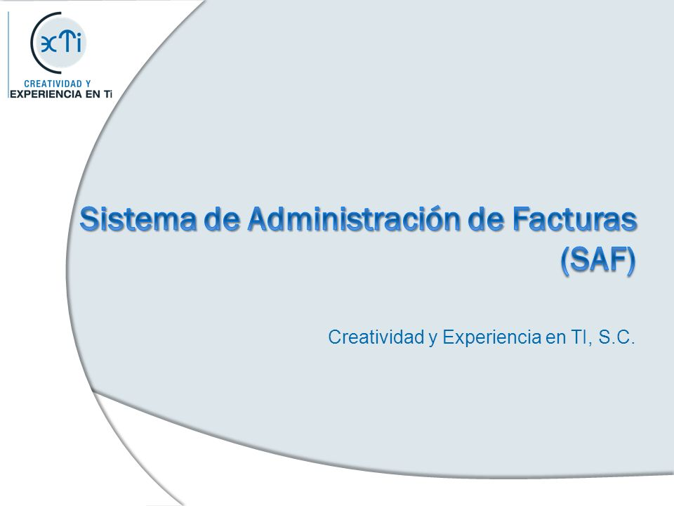 Creatividad y Experiencia en TI, S.C.