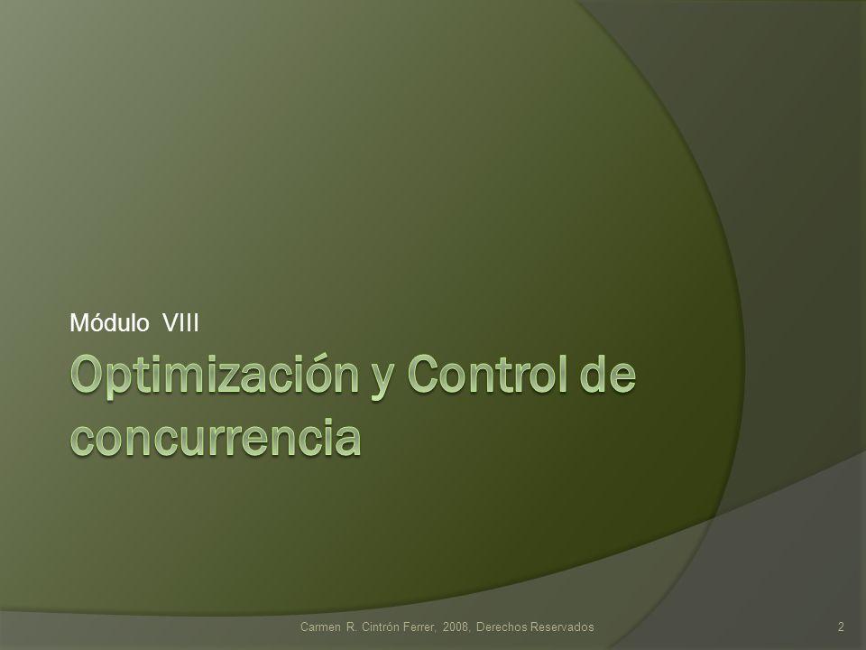 Manejo de Transacciones Acción por transacción: Examinar: Seleccionar Ordenar y Presentar Actualizar o Editar Eliminar Tipo de Transacción:: Simple Compuesta Carmen R.