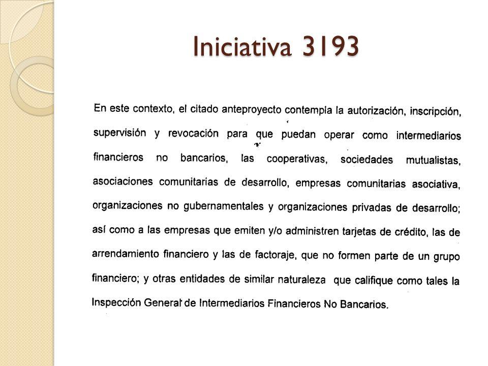 Iniciativa 3193