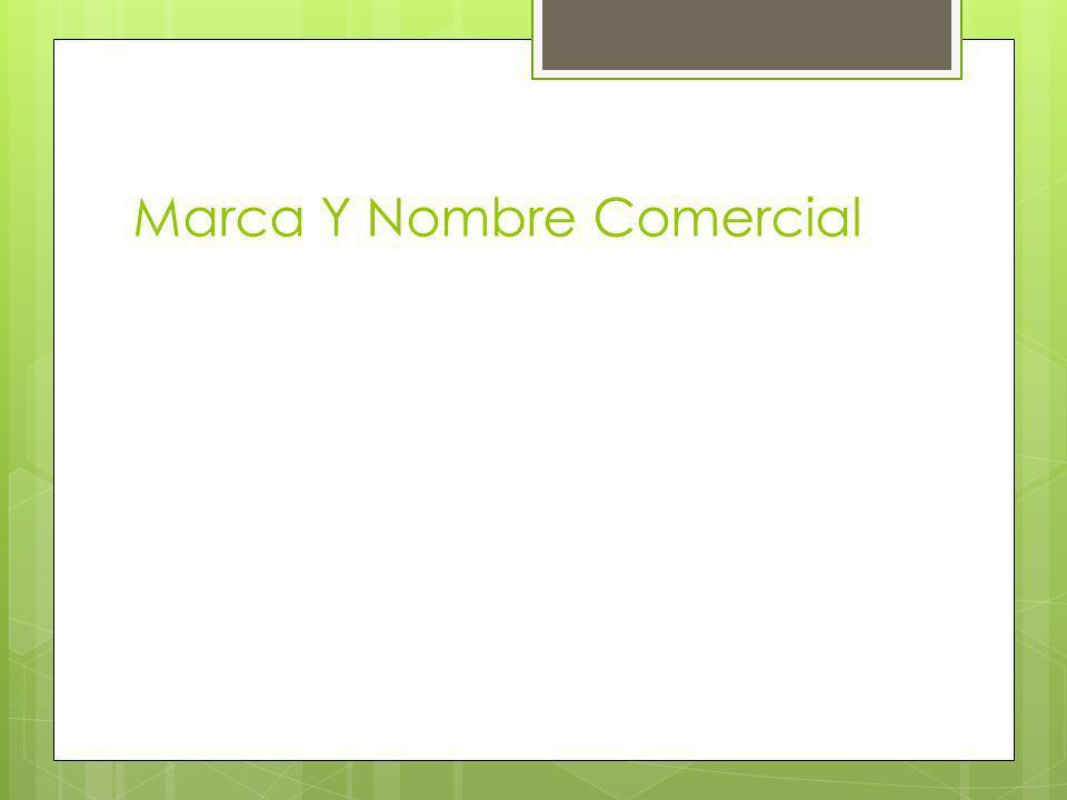 Marca Y Nombre Comercial
