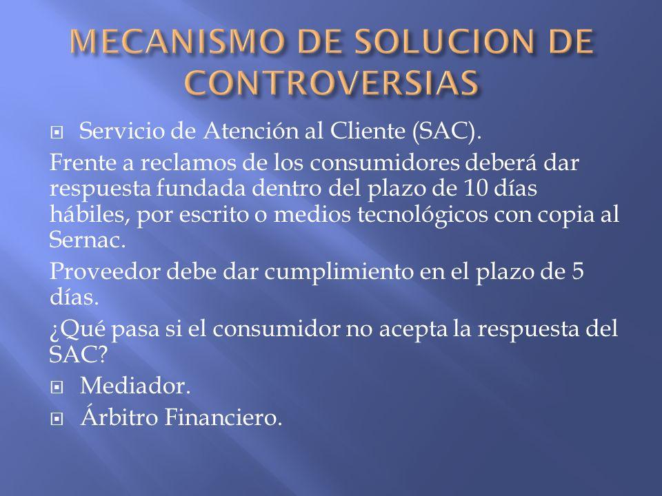 Nombramiento: común acuerdo, o Sernac.Listado disponible en página web del Sernac.