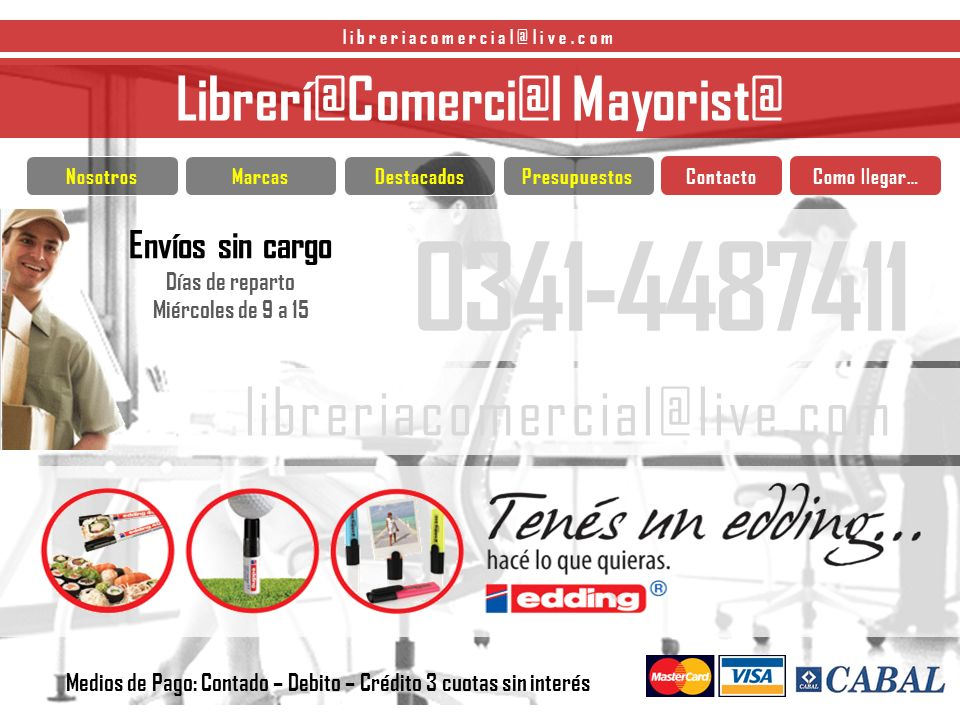 Librerí@ Comerci@l Mayorist@ libreriacomercial@live.com RESMAS CARPETAS CUADENOS DISEÑOS INNOVADORES Siguiente