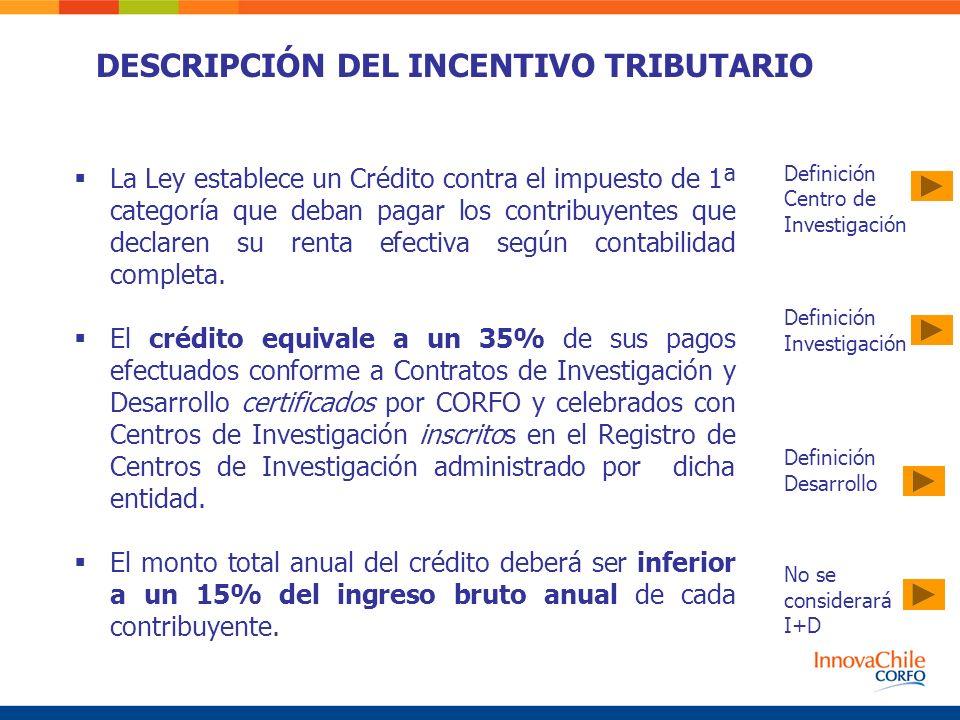 La Ley establece un Crédito contra el impuesto de 1ª categoría que deban pagar los contribuyentes que declaren su renta efectiva según contabilidad co