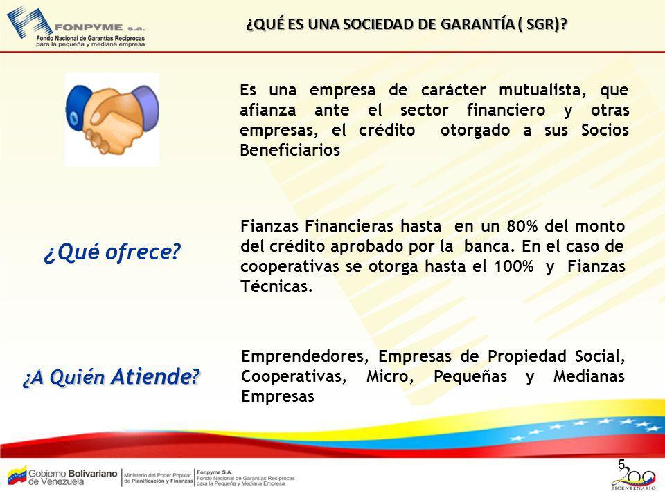 16 FIANZAS OTORGADAS POR EL SNGR (2003-2012) Expresado en Millones No incluye las operaciones de Sogampi