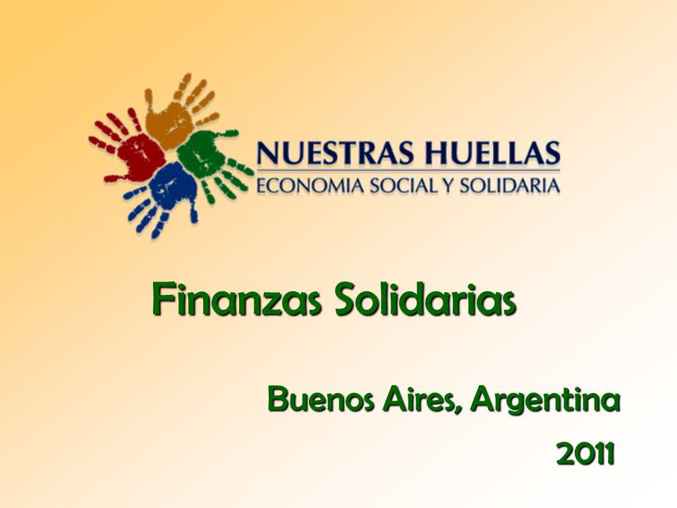 Finanzas Solidarias Buenos Aires, Argentina 2011