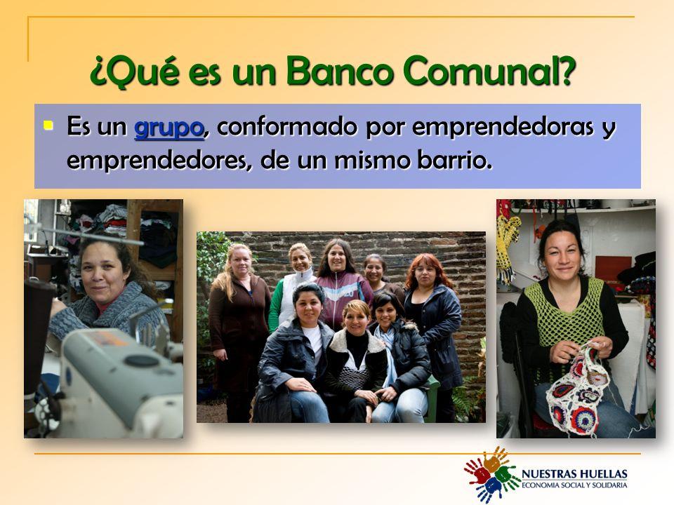 ¿Qué es un Banco Comunal.