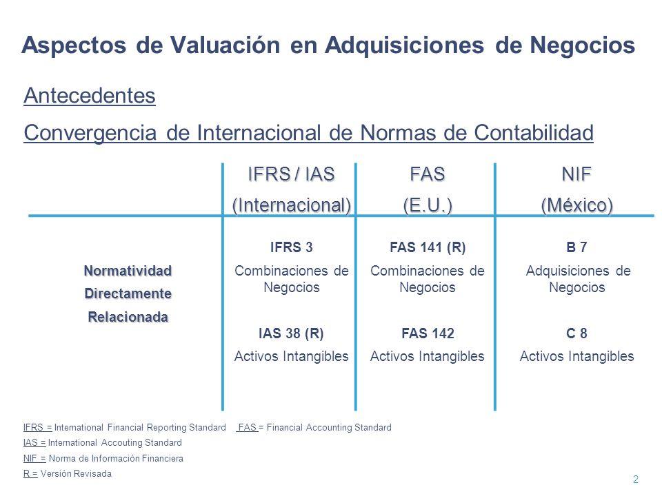 3 Introducción A partir del 1 de enero de 2005, la compra de una empresa deberá cumplir los lineamientos establecidos en la NIF B-7 Adquisición de Negocios.
