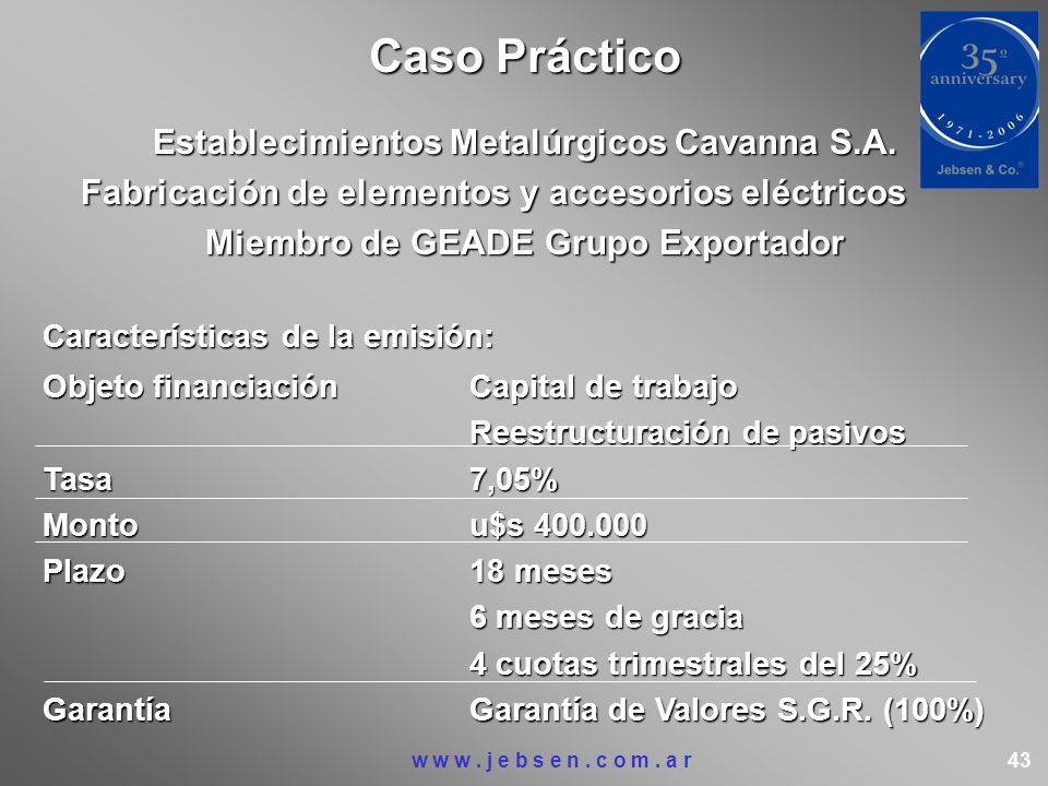 Establecimientos Metalúrgicos Cavanna S.A. Fabricación de elementos y accesorios eléctricos Fabricación de elementos y accesorios eléctricos Miembro d