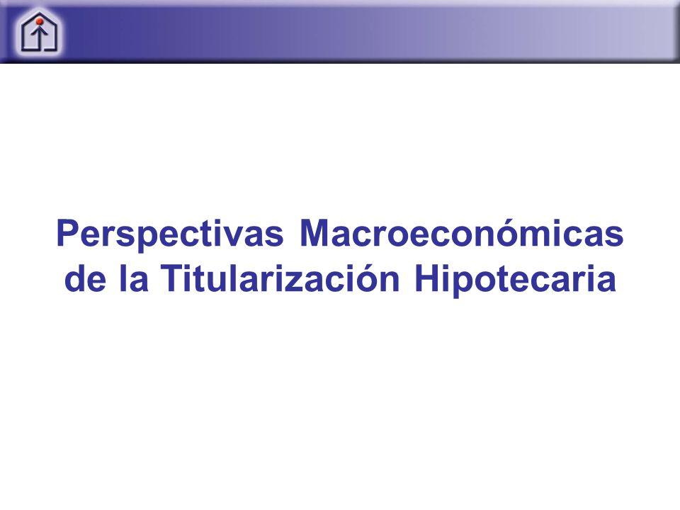 Perspectivas Macroeconómicas de la Titularización Hipotecaria