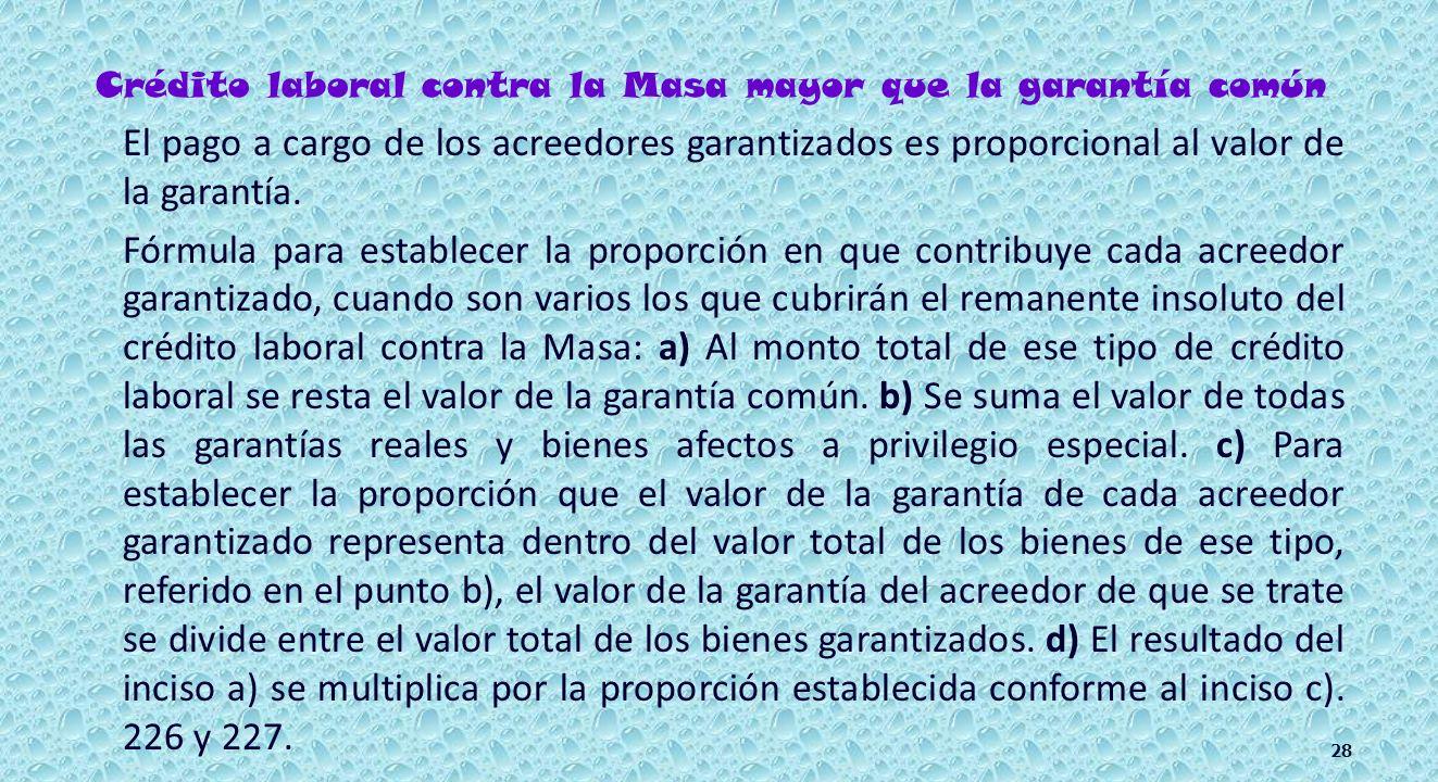 Laborales contra la Masa. Fiscales a favor del IMSS.