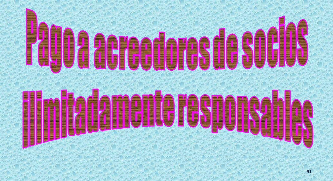 CRÉDITOS DEL CONCURSADO. 217 al 220 y 222. IV).- Acreedores comunes.