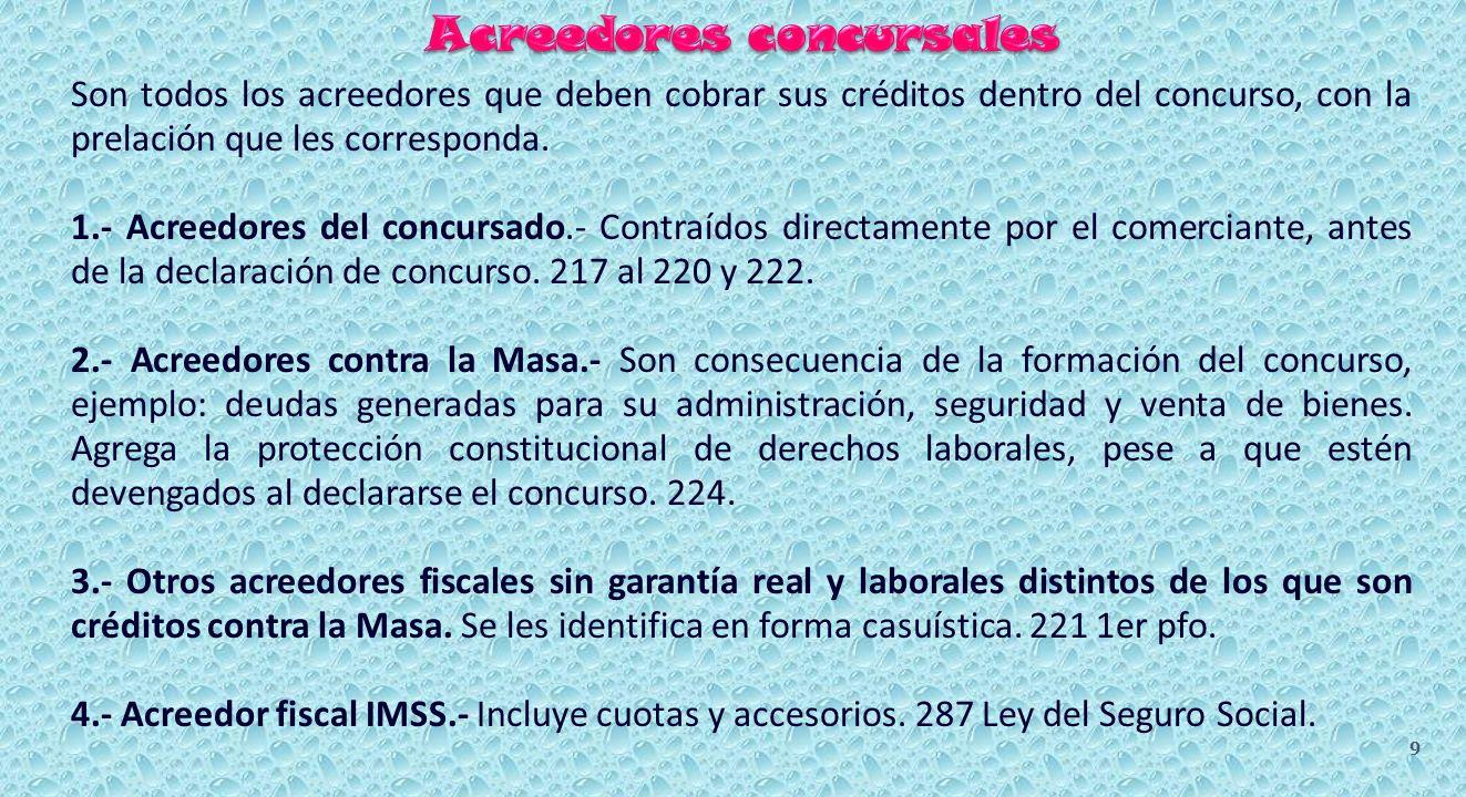 CRÉDITO FISCAL A FAVOR DEL IMSS.287 al 289 Ley del Seguro Social.
