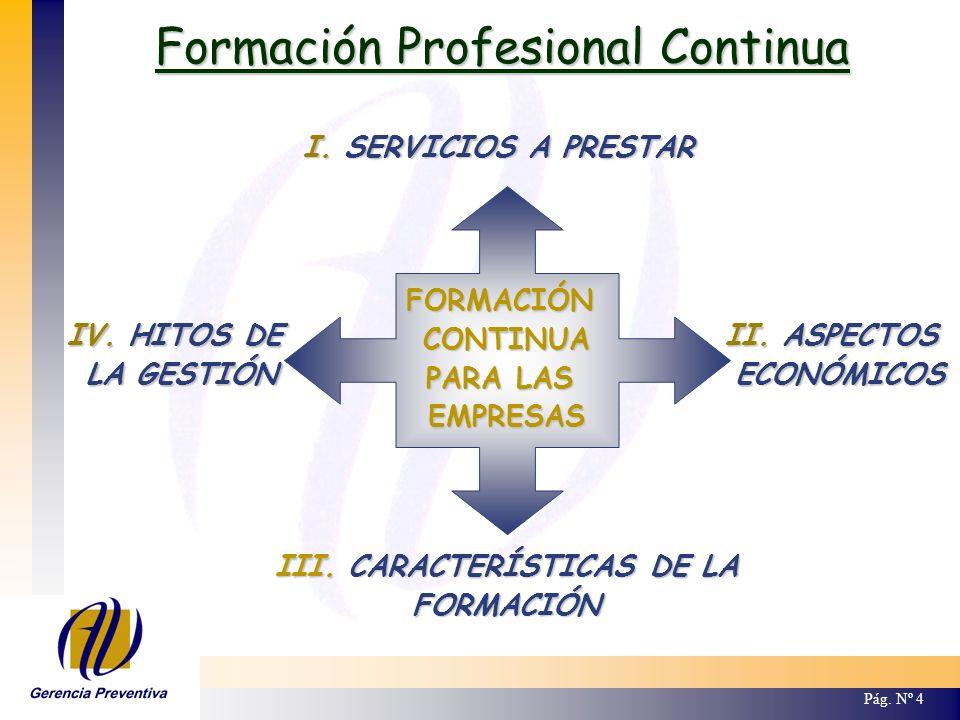 I.Servicios a Prestar Empresa Bonificada Entidad Gestora.