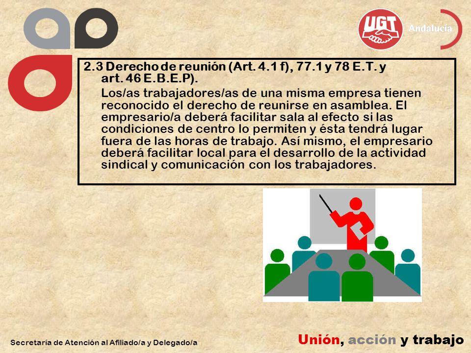 2.4 Derecho a uno o varios tablones de anuncios (art.