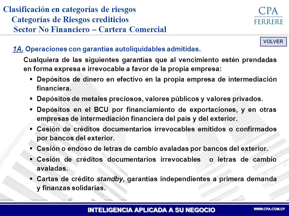 INTELIGENCIA APLICADA A SU NEGOCIO WWW.CPA.COM.UYWWW.CPA.COM.UY 1C.