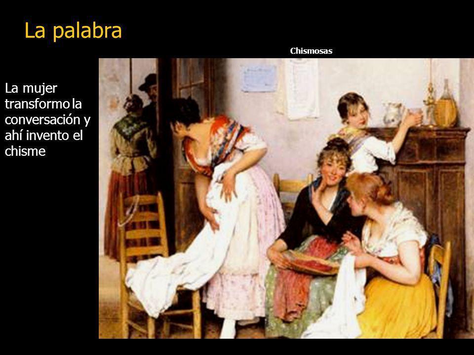 Caravaggio El hombre descubrió la palabra e invento la conversación La palabra