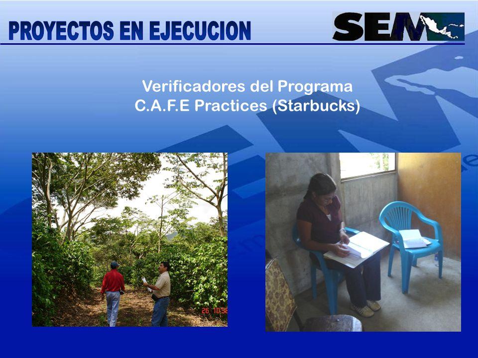 Verificadores del Programa C.A.F.E Practices (Starbucks)