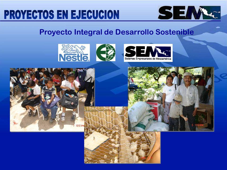 Proyecto Integral de Desarrollo Sostenible