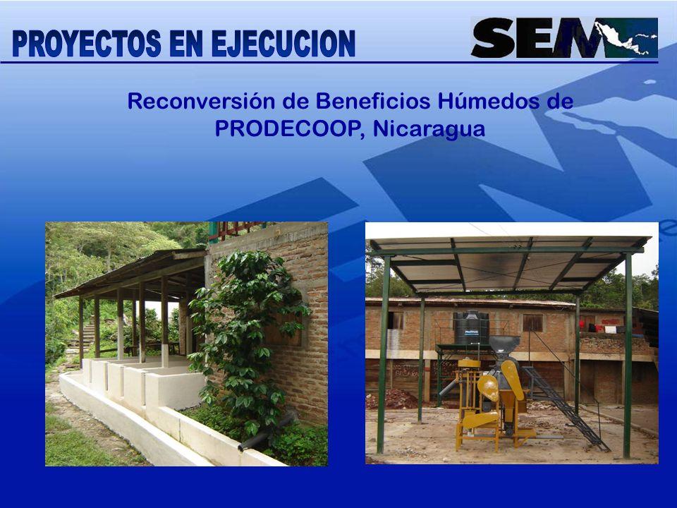Reconversión de Beneficios Húmedos de PRODECOOP, Nicaragua