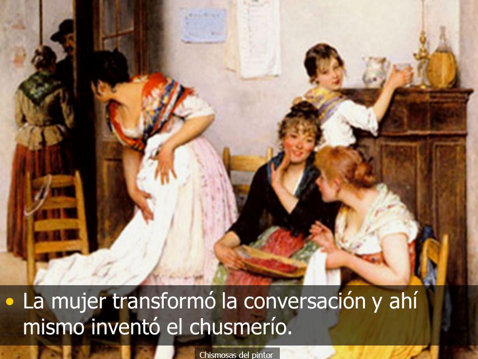 La palabra El hombre descubrió la palabra e inventó la conversación. de Caravaggio