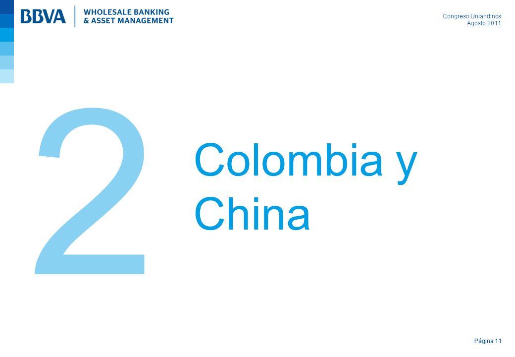 Congreso Uniandinos Agosto 2011 Página 11 Colombia y China 2