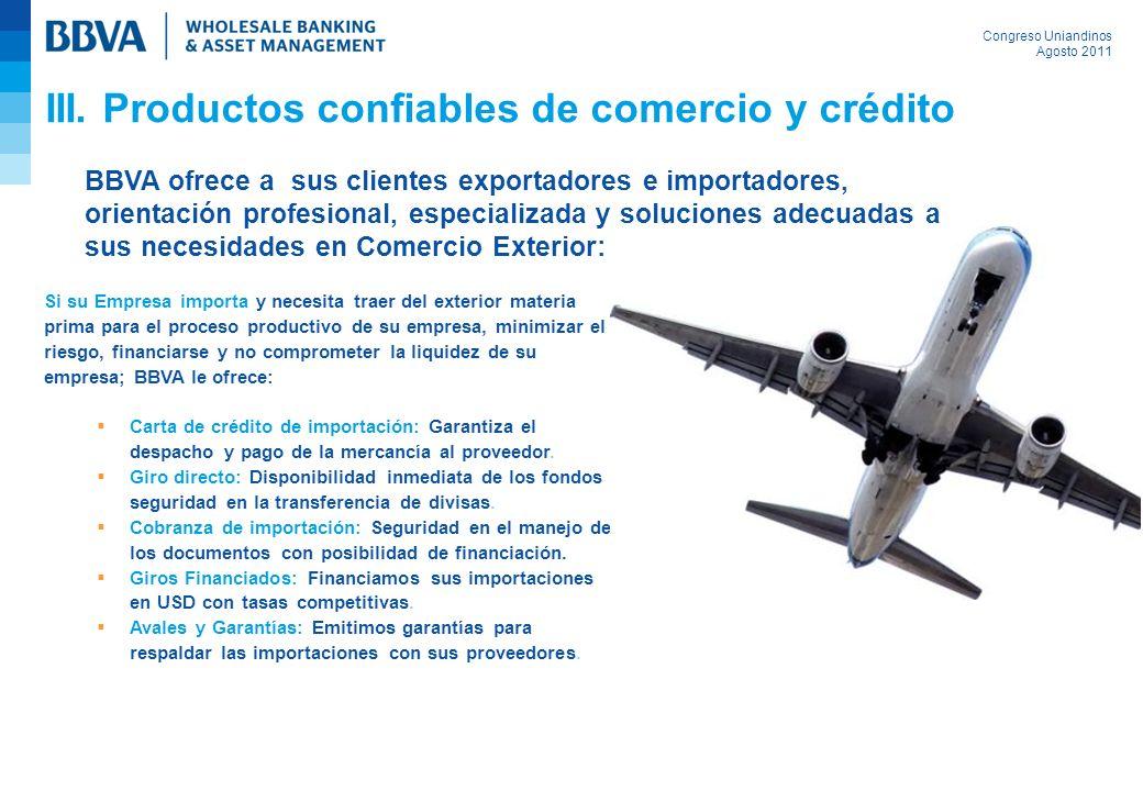 Congreso Uniandinos Agosto 2011 Si su Empresa importa y necesita traer del exterior materia prima para el proceso productivo de su empresa, minimizar