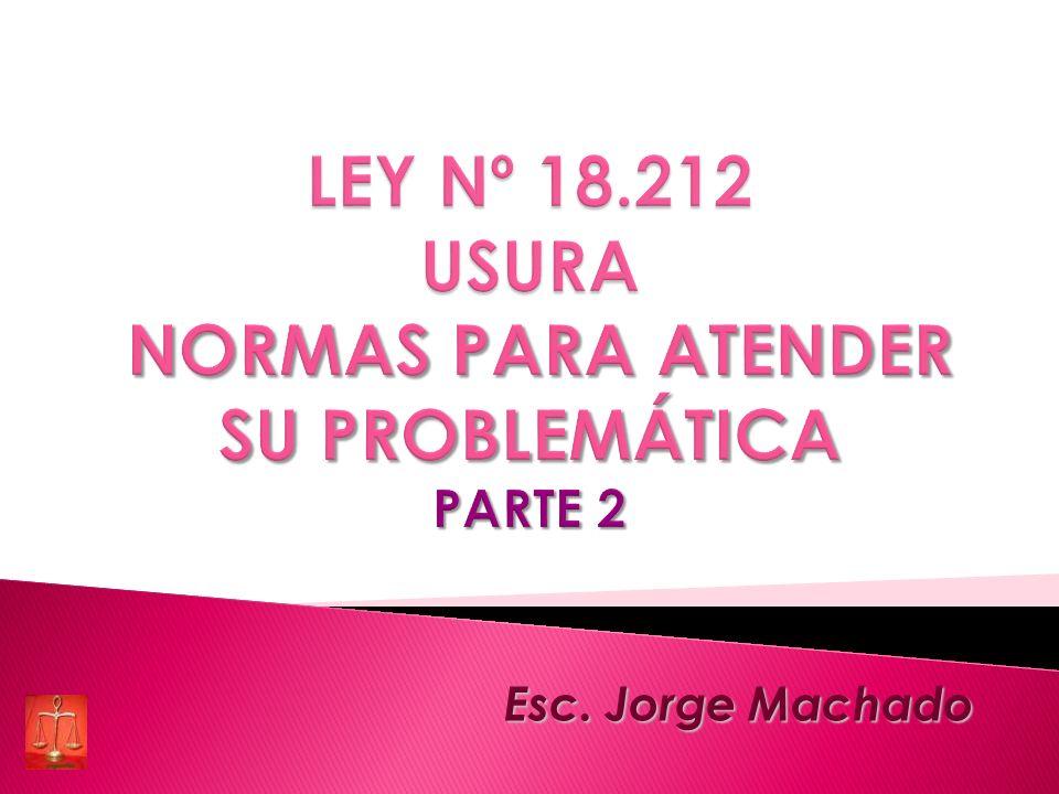 Esc. Jorge Machado