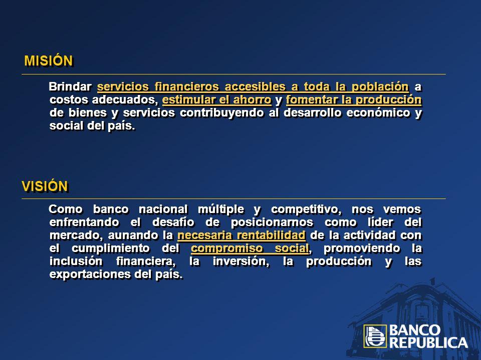 SISTEMA BANCARIO – RENTABILIDAD SOBRE ACTIVO EN 2007 Compartiendo en 2007 el primer lugar en rentabilidad sobre activo (R.O.A.) entre las Instituciones bancarias del país.