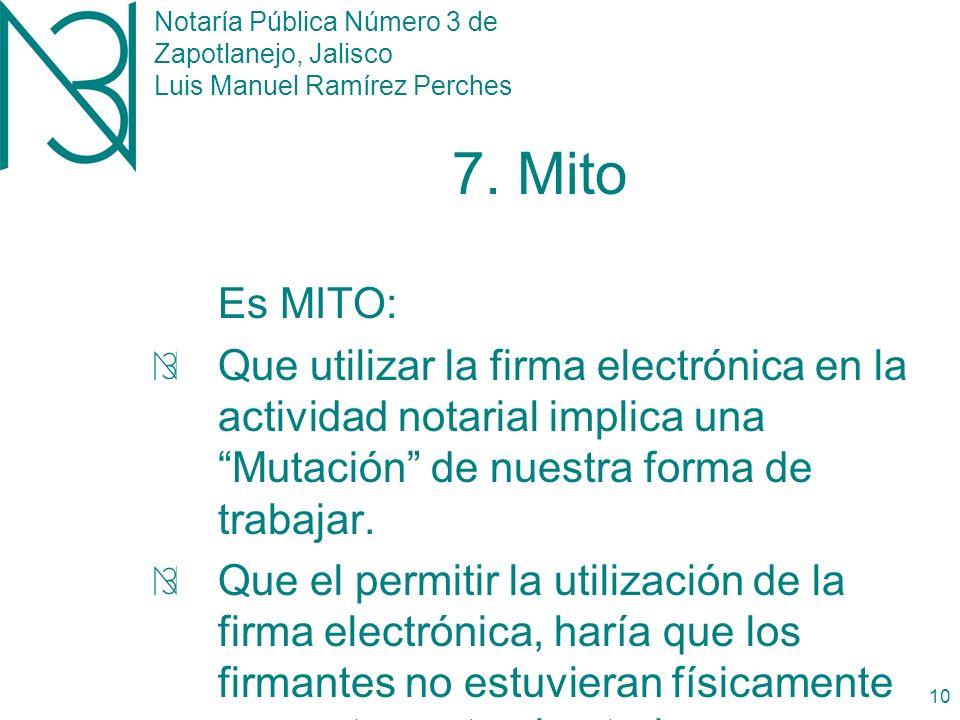Notaría Pública Número 3 de Zapotlanejo, Jalisco Luis Manuel Ramírez Perches 9 6.