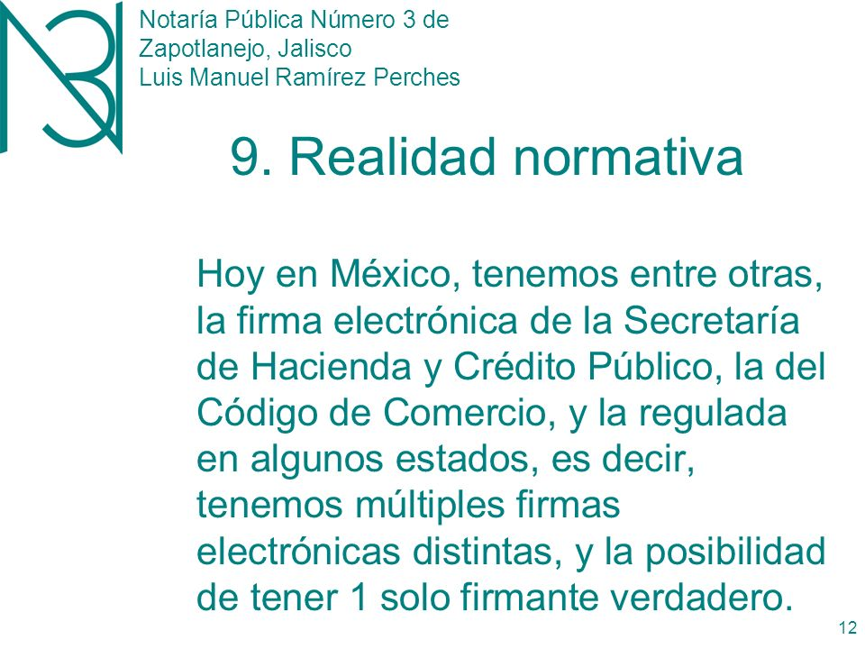 Notaría Pública Número 3 de Zapotlanejo, Jalisco Luis Manuel Ramírez Perches 11 8.