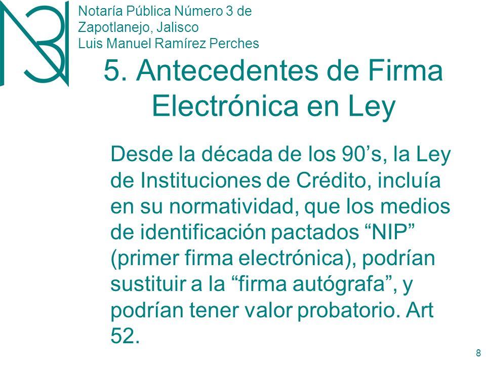 Notaría Pública Número 3 de Zapotlanejo, Jalisco Luis Manuel Ramírez Perches 7 4.