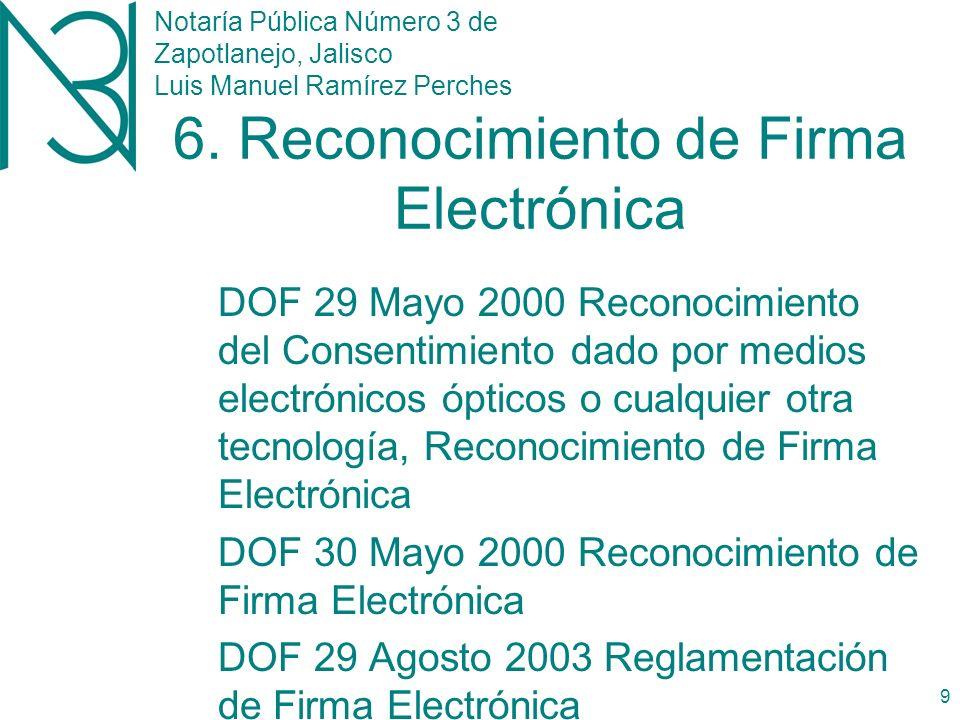 Notaría Pública Número 3 de Zapotlanejo, Jalisco Luis Manuel Ramírez Perches 8 5.
