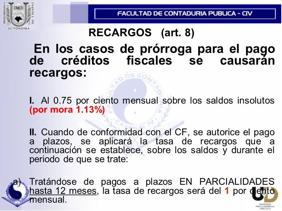 ESTIMULO PARA EL IMPAC (art.