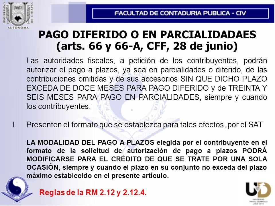 CRÉDITOS FISCALES CAUSADAS ANTES DEL 1o.DE ENERO DE 2003 I.