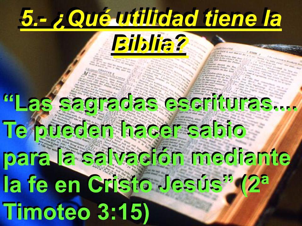 ¿Por qué?...revela el poder de Dios para cambiar la vida de los hombres
