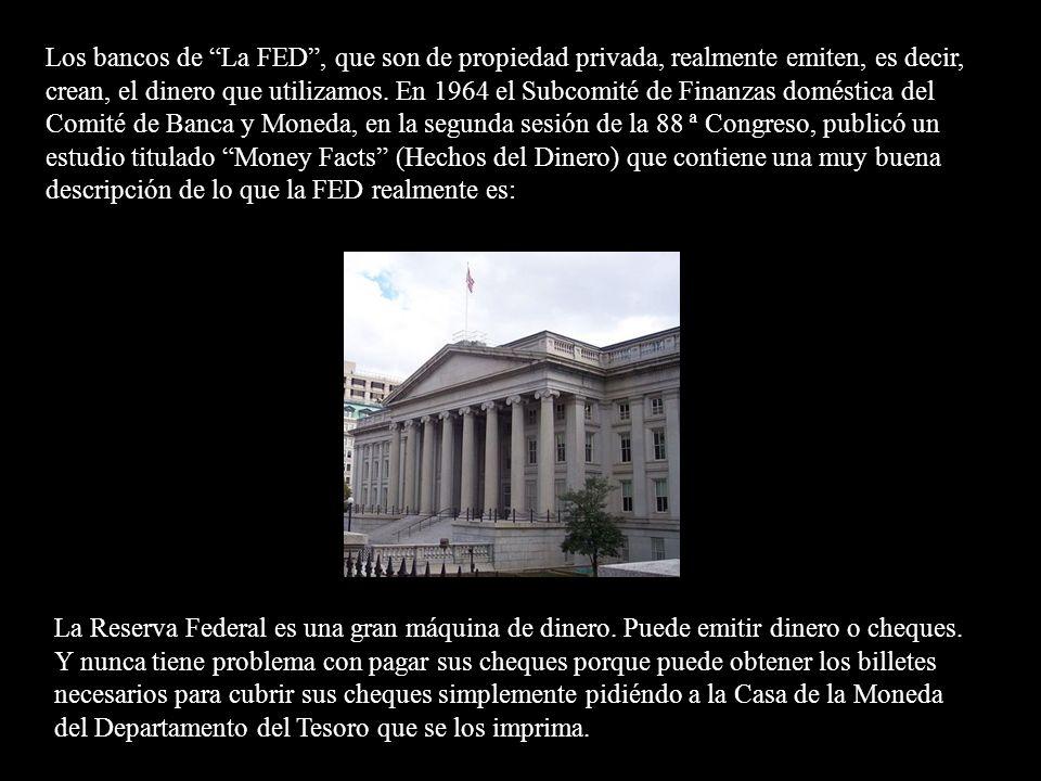 Del mismo modo, los bancos de la Reserva Federal, aunque muy regulados, son controlados localmente por sus bancos miembros. En el siguiente extracto d