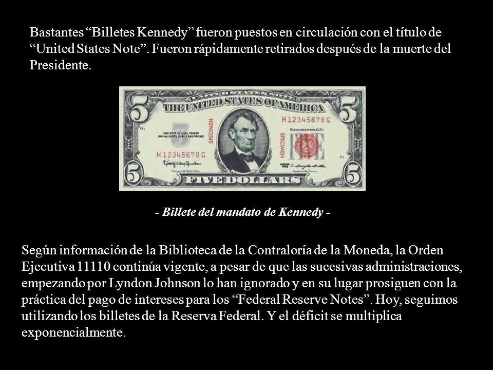 El asesor de la moneda de Kennedy, James J. Saxon, también llevaba tiempo enfrentado con la poderosa Junta de la Reserva Federal. Él alentaba a la inv