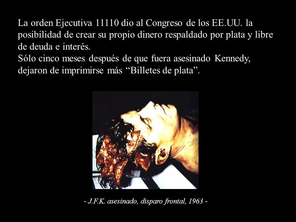 La orden Ejecutiva 11110 dio al Congreso de los EE.UU.