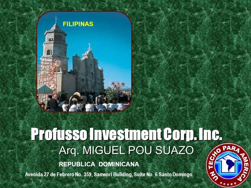 Profusso Investment Corp. Inc. Ing. GUSTAVO VENERO F. ESTADOS UNIDOS : ITALIA 13974 SW 46 TER APT A MIAMI, FL 33175