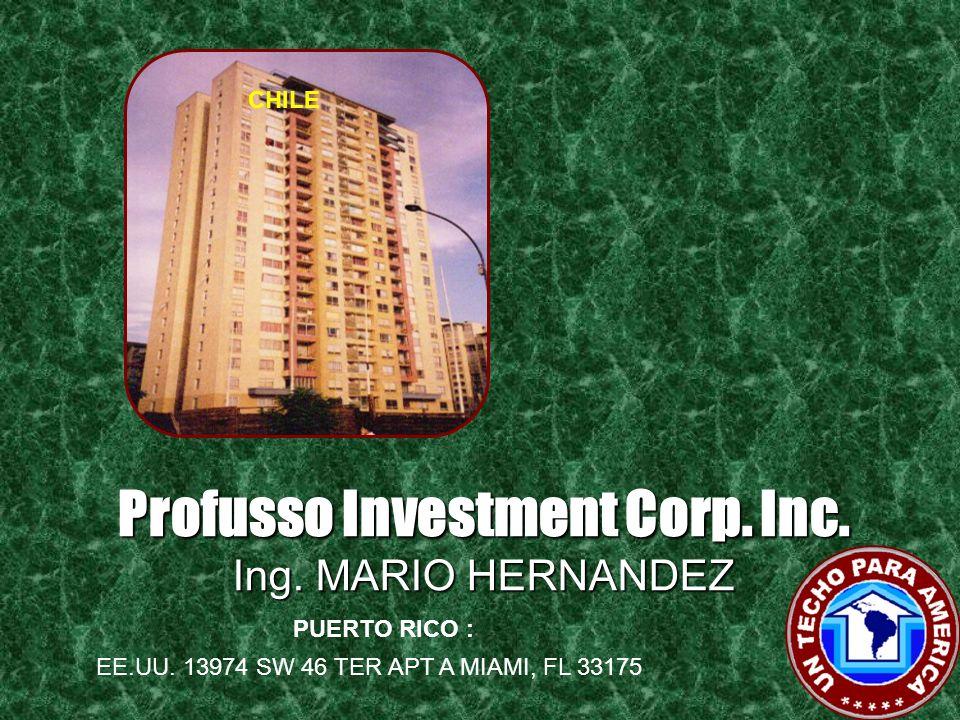 Profusso Investment Corp. Inc. Arq. MIGUEL POU SUAZO REPUBLICA DOMINICANA FILIPINAS Avenida 27 de Febrero No. 359, Samenri Building, Suite No. 6 Santo