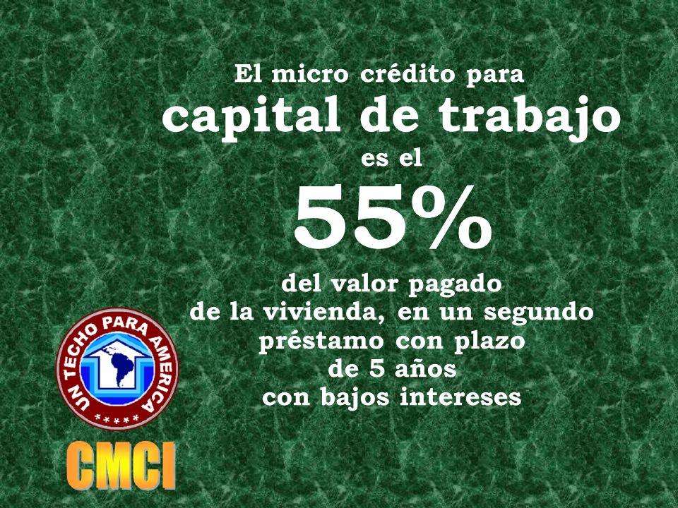El premio al pago cumplido de la hipoteca es el 65% de los intereses devueltos a la familia como DONACION PRIVADA GRATUITA NO REEMBOLSABLE para capita