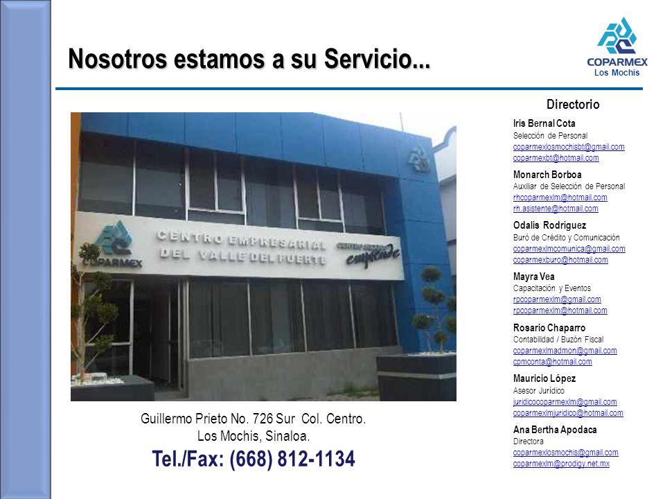 Los Mochis Nosotros estamos a su Servicio...Guillermo Prieto No.