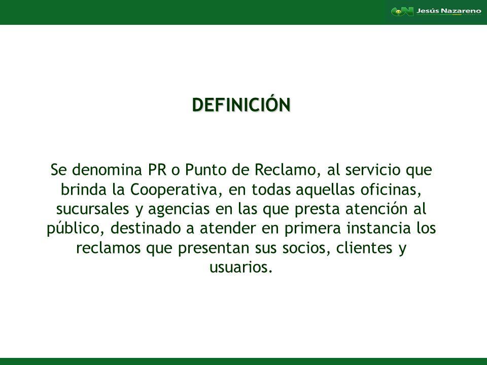 Lorena Aguilera Franco PLAZO DE RESPUESTA A RECLAMO La Cooperativa atenderá el reclamo entregando la respuesta, dentro de un plazo de 5 días hábiles a partir del día siguiente de la presentación del reclamo.