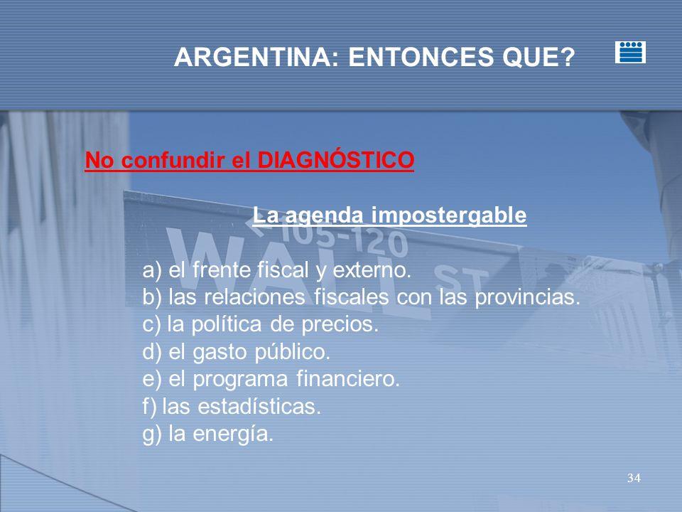 34 ARGENTINA: ENTONCES QUE.
