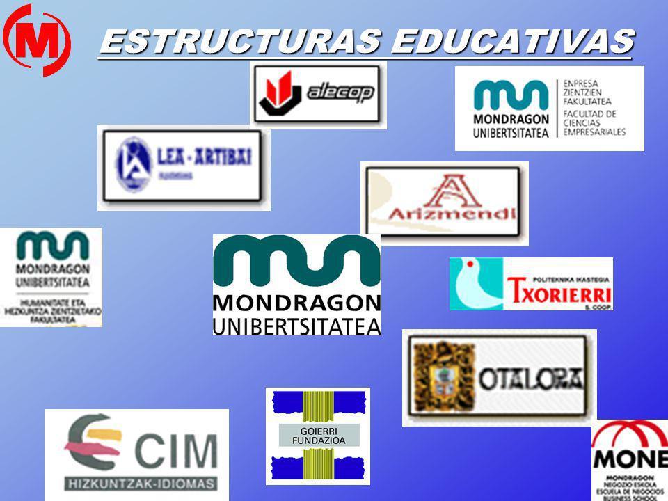 13 ESTRUCTURAS EDUCATIVAS