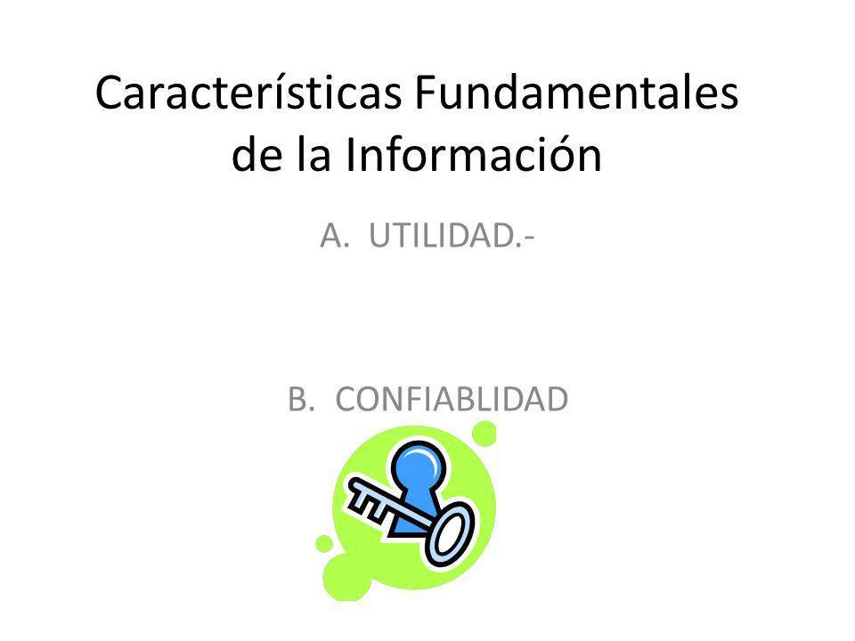 OPORTUNIDAD La información Financiera debe emitirse al usuario a tiempo