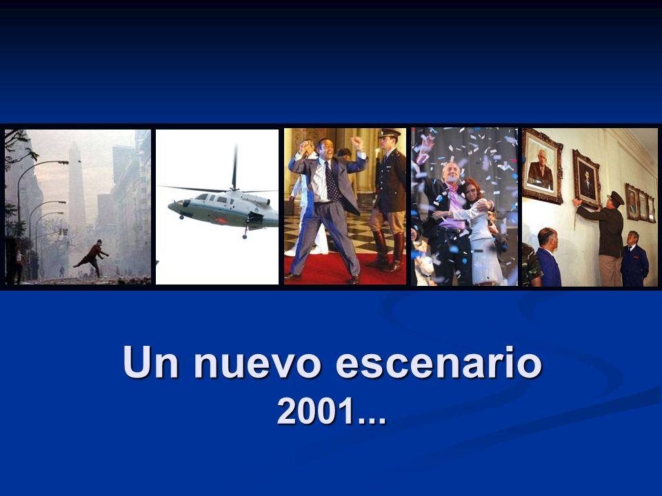 Un nuevo escenario 2001...