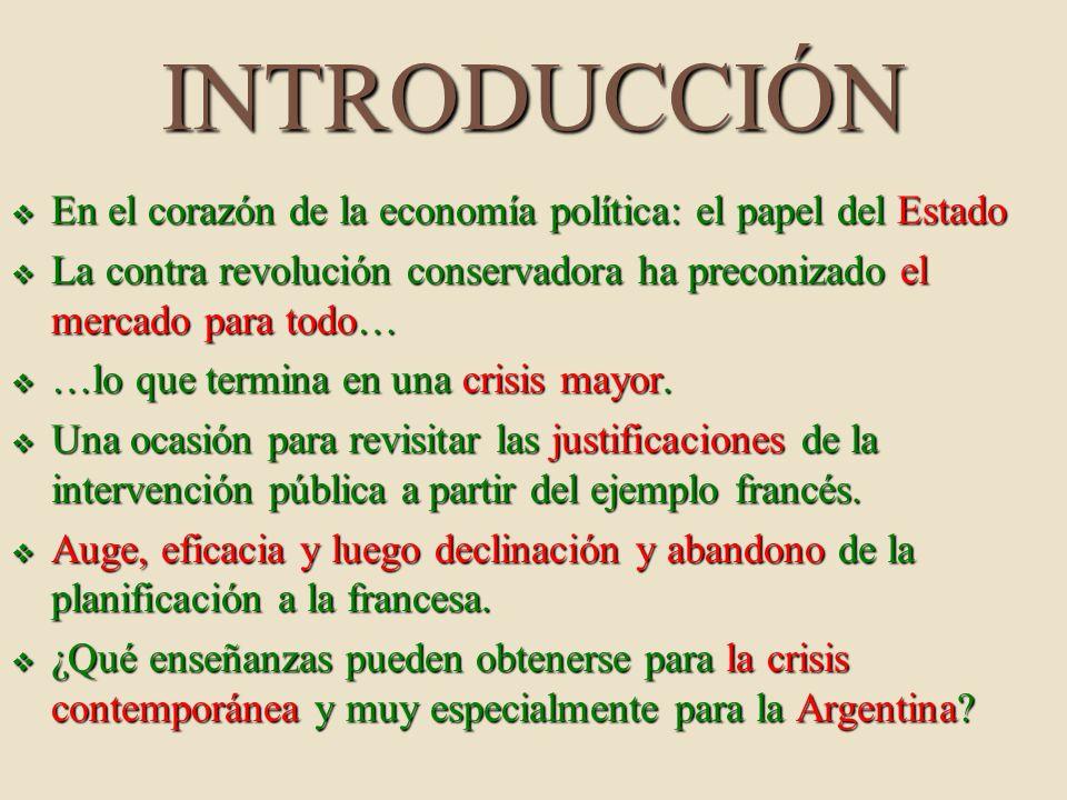INTRODUCCIÓN En el corazón de la economía política: el papel del Estado En el corazón de la economía política: el papel del Estado La contra revolució