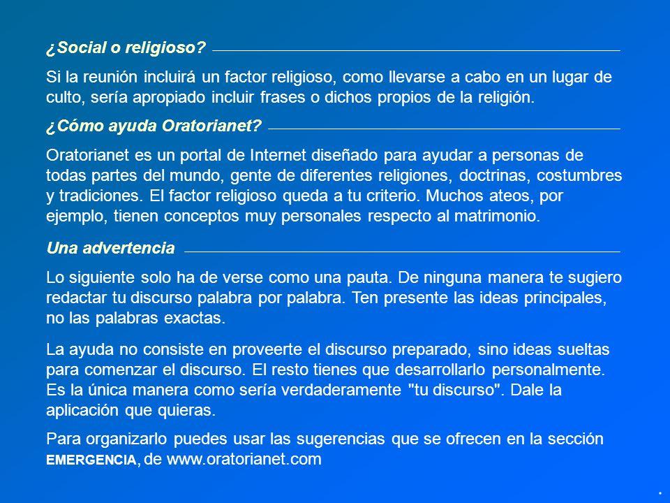 8 ideas para comenzar el discurso ©Miguel Ángel Ruiz Orbegoso